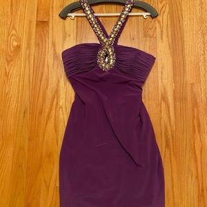 Custom Purple Prom Dress